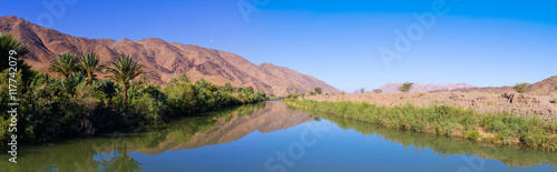 Draa river in Morocco