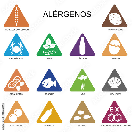 alergenos Canvas Print
