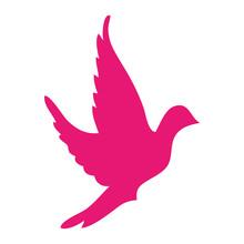 Dove Bird Silhouette Icon