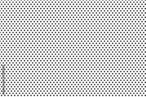 Fotografie, Obraz  metal plate with many black dots