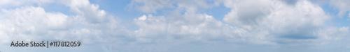 Obraz na płótnie Panorama Sky and Cloud