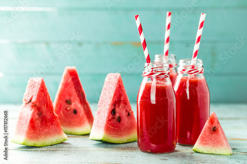 Fotografia  watermelon drink