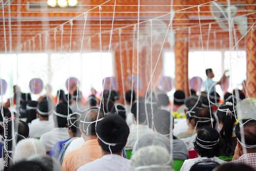 Fotografiet thai tradition exorcism ceremony