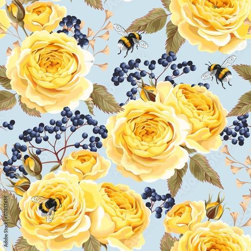 piekne-zolte-kwiaty-roz