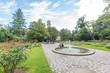 Stadtpark Fürth im Sommer