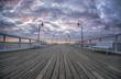wooden jetty Gdynia