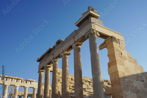 Garden Poster Napels The ancient Acropolis of Athens