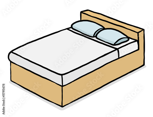 Double Bed Cartoon Vector And Illustration Hand Drawn Style Isolated On White Background Buy This Stock Vector And Explore Similar Vectors At Adobe Stock Adobe Stock Download 15,000+ royalty free bed cartoon vector images. double bed cartoon vector and