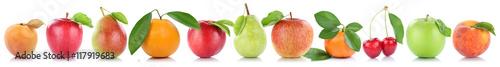 Früchte Apfel Orange Frucht Äpfel Aprikose Orangen Kirschen Ob