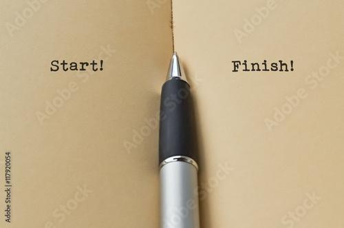 Photo  Start and Finish