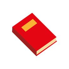 Book Single Read Education Vector Graphic Icon