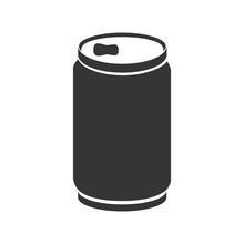 Can Soda Drink Icon Vector Gra...