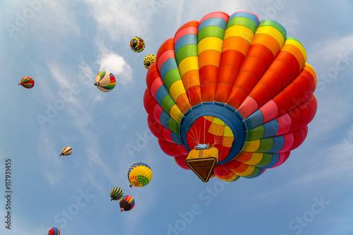 Fényképezés  Hot air balloons