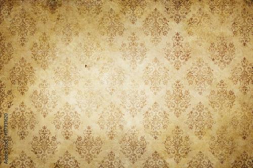 rocznik-papierowa-tekstura-z-staromodnym-ornamentem