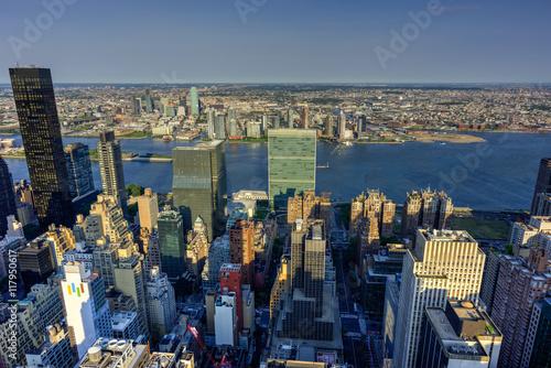 Staande foto Sydney New York City Skyline