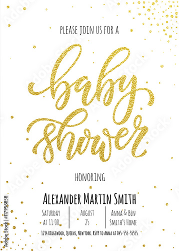 Baby shower invitation card template buy this stock vector and baby shower invitation card template filmwisefo