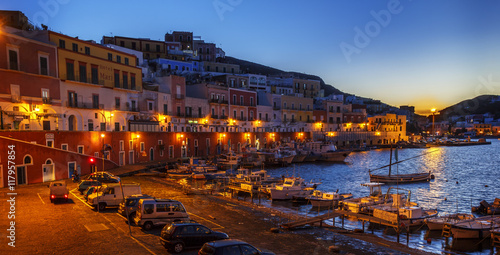 Recess Fitting City on the water ponza landscape view night scene