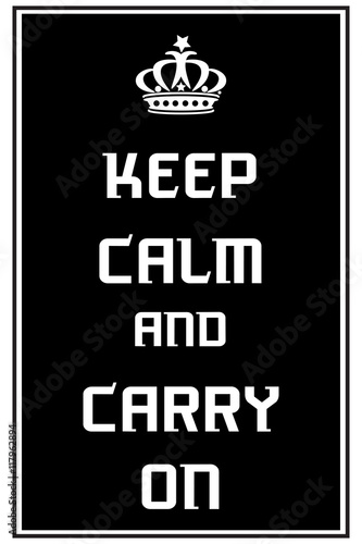 Fényképezés  Keep calm and carry on