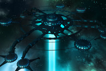 Galactical Spider. Space Stati...