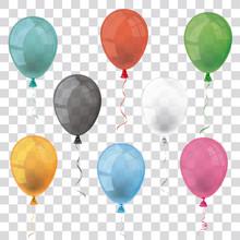 Transparent Balloons Set