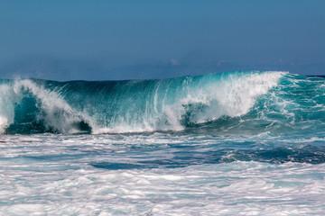 Obraz na PlexiVague Vagues et océan