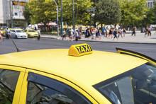 Taxi Yellow Athens  ,Greece