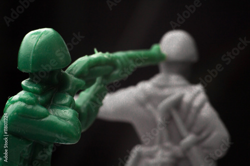 Photo  Toy Soldiers War