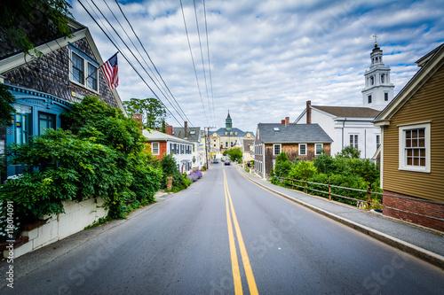 Fototapeta Bradford Street, in Provincetown, Cape Cod, Massachusetts.