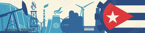Energy and Power icons set Wallpaper Mural
