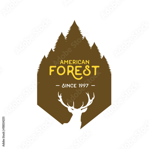 American forest badge