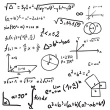Vector Illustration Of Mathema...