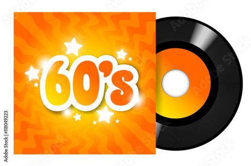 Fotografía  60's Records 45 RPM / 45 tours sixties