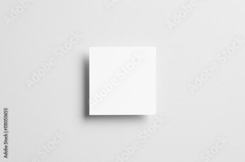 Fotografie, Obraz  Square Flyer / Invitation Mock-Up