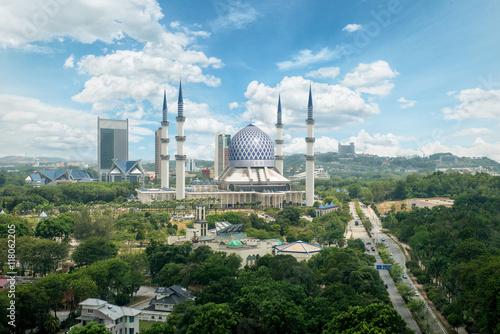 Photo Masjid Sultan Salahuddin Abdul Aziz Shah in Malaysia