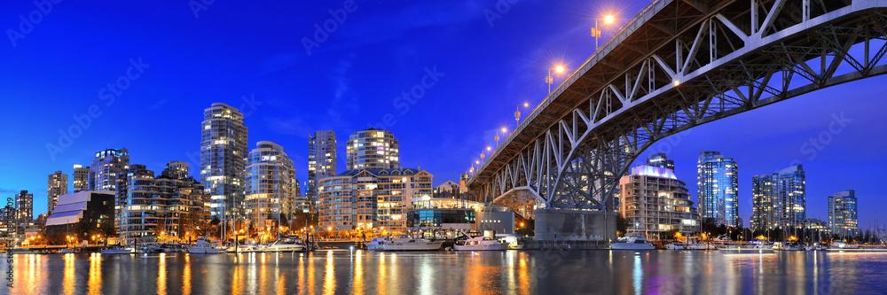Fototapeta Vancouver False Creek