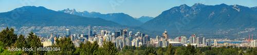 Naklejka premium Vancouver w górach