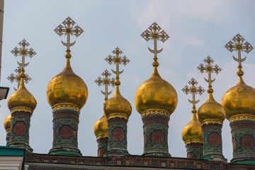 Fototapeta Orthodoxe Zwiebeltürme Moskau