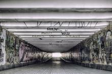 Urban Underground Tunnel With ...