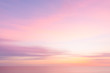 canvas print picture - Blurred  sunset sky and ocean nature background