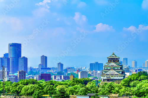 Fotografia 大阪城 OSAKA CASTLE