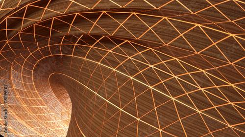 abstrakcyjna-krzywa-tworzaca-tunel