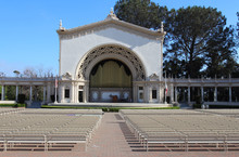 The World's Largest Outdoor Pipe Organ (The Spreckels Organ Pavilion). Balboa Park, San Diego, California, USA
