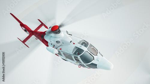 Türaufkleber Hubschrauber Helicopter