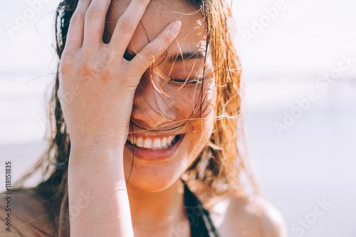 Plakat Szeroki uśmiech