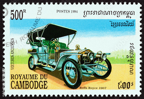 Foto  Rolls Royce 40/50 Silver Ghost Tourer, 1907 (Cambodia 1994)