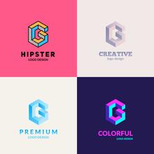 """Letter """"G"""" Logo Design. Trendy..."""