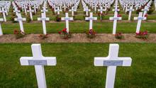 Crosses In The Verdun Cemetery In France