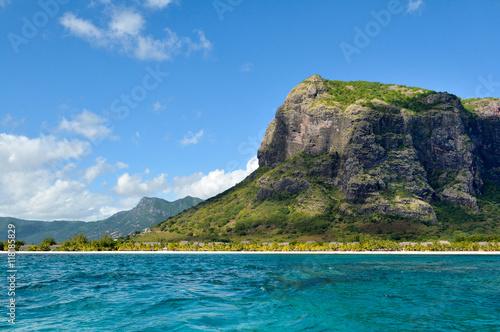 Le Morne Brabant landscape, Mauritius island Poster