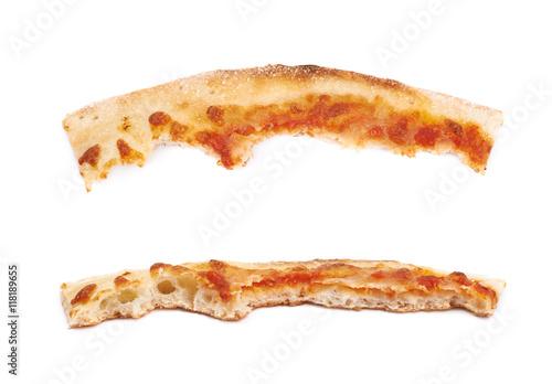 Canvastavla Pizza crust isolated