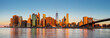 New York City Panorama - Manhattan at the early morning